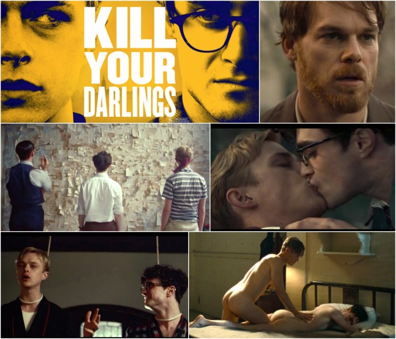 kill_your_darlings_2013_film_poster_krokidas_daniel_radcliffe_hot_nude_naked_poet_allen_ginsberg_dane_dehaan_lucien_carr_michael_hall_kammerer_jack_huston_ben_foster_borroughs_gay_kiss_sex_scene_bed_room_wall_s